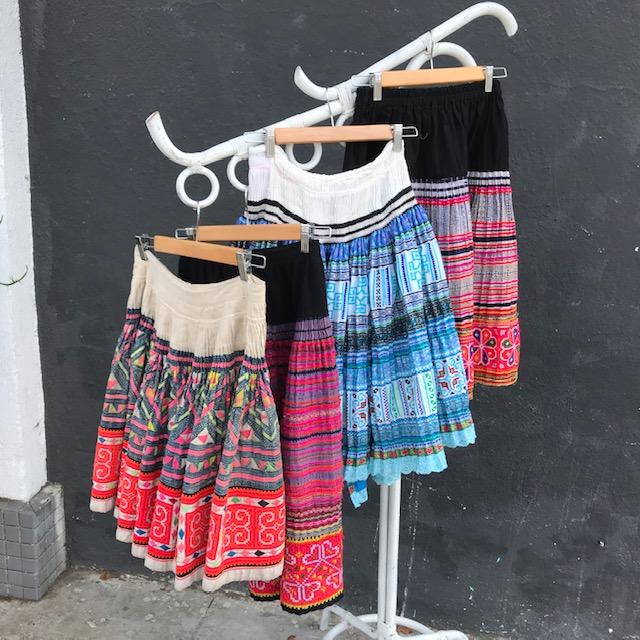 Vintage Thailand Skirts