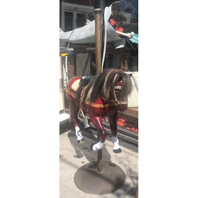 Jack And Jean Boundy Carousel Horse