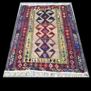 Hand Woven Turkish Kilim Rug