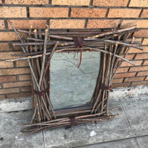 Twig Framed Mirror
