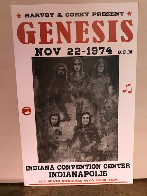 Reissued Vintage Concert Posters